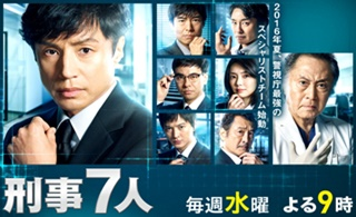 「刑事7人」第2シリーズキャスト画像
